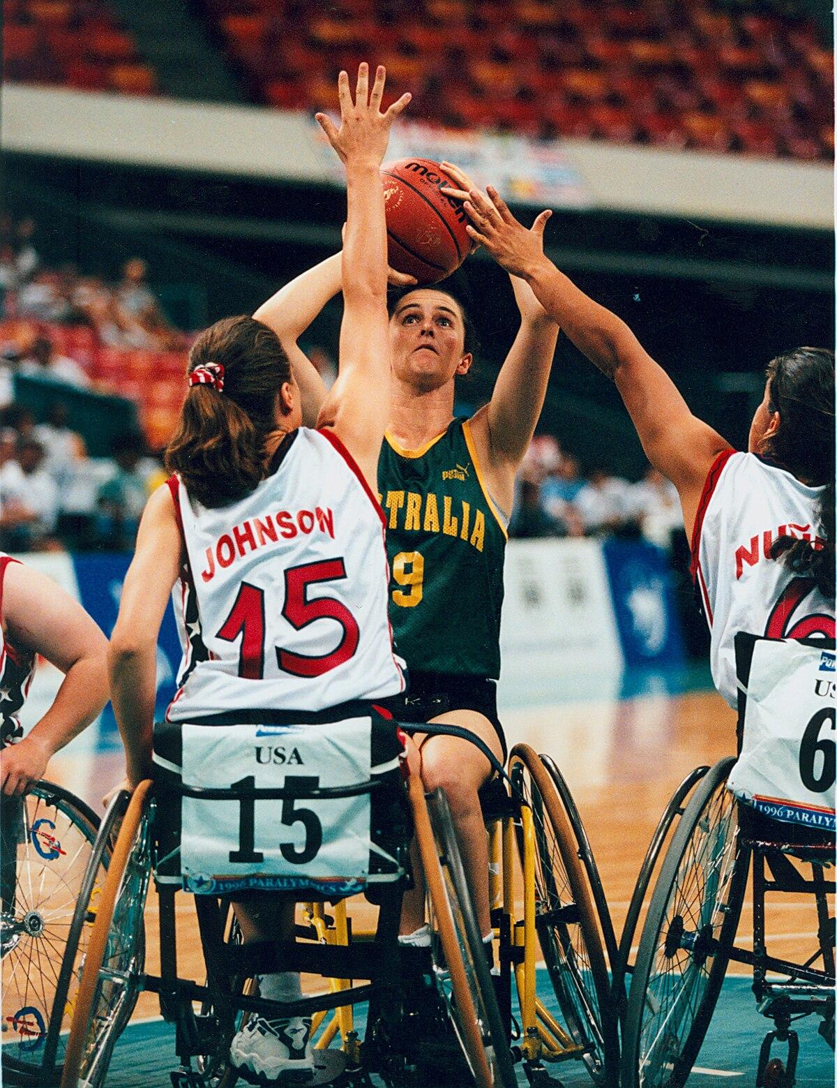 basket en fauteuil roulant aux jeux paralympiques wikip 233 dia