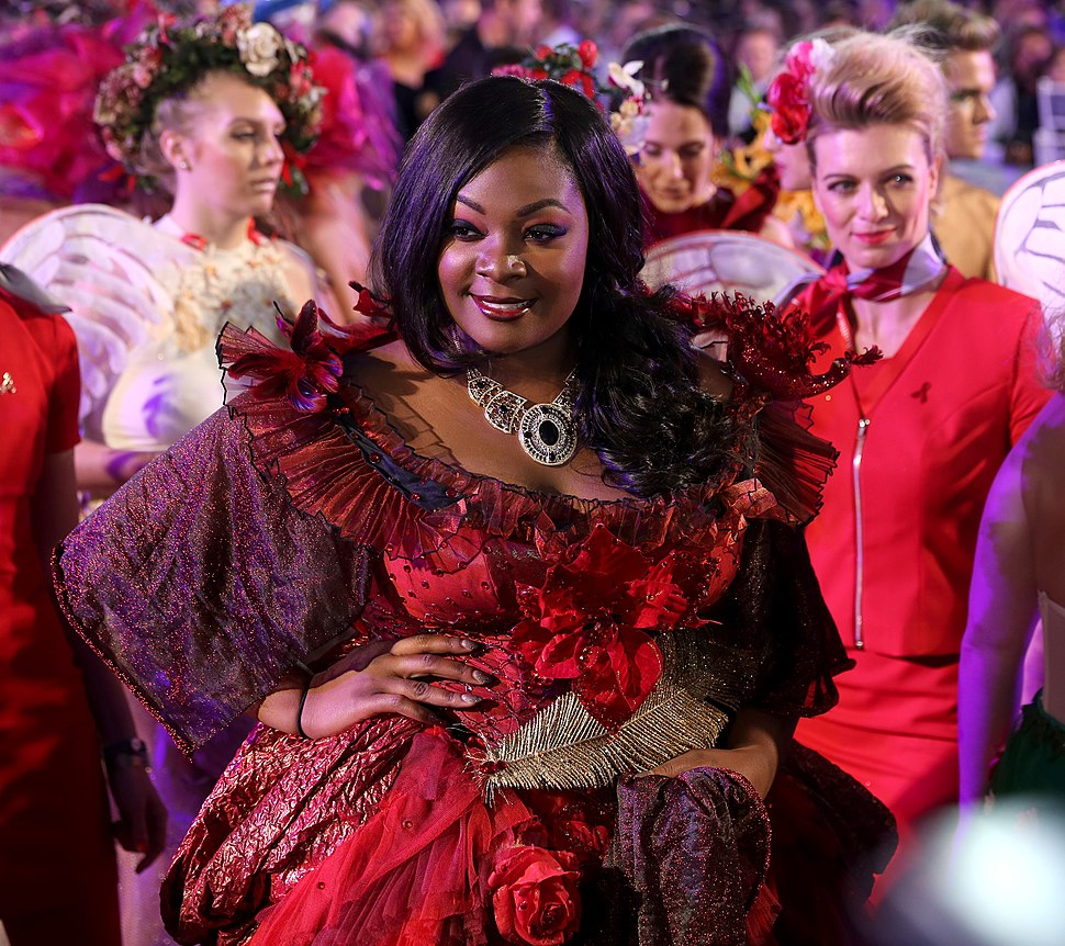 Life Ball 2014 red carpet 092 Candice Glover