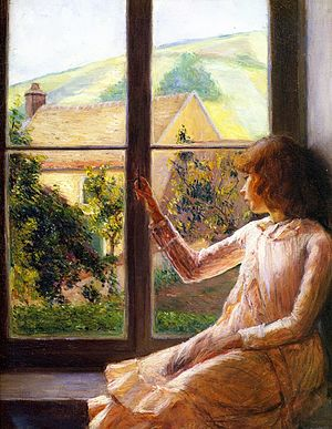 Lilla Cabot Perry - Child at the Window (Edith Perry)