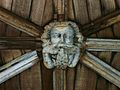 Lincoln Cathedral Cloisters- roof boss 1.JPG