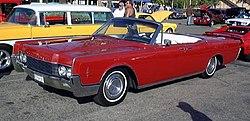 Lincoln Continental, 4 door convertible