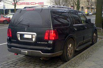 Lincoln Navigator - 2003–2006 Lincoln Navigator, Germany