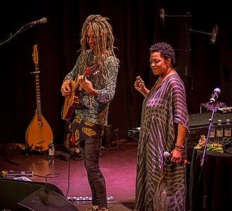 Lisa Fischer - Fischer performing with JC Maillard in 2016