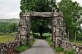 Llanfachreth Old Arch entrace to Nannau Estate.JPG