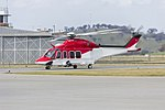 Lloyd Off-Shore Helicopters (VH-SYZ) AgustaWestland AW139 taxiing at Wagga Wagga Airport.jpg