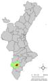 Localització de Novelda respecte el País Valencià.png
