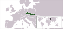 Description de l'image  LocationCzechoslovakia(1945-1992).png.