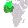 ที่ตั้งของแอฟริกาตะวันตก