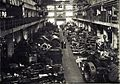 Locomotive parts in Lokomo workshop 1955.jpg