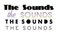 Logo THE SOUNDS.tiff