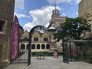 historic complex of buildings in Smithfield, London