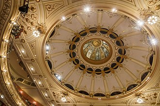 London Coliseum - The domed ceiling