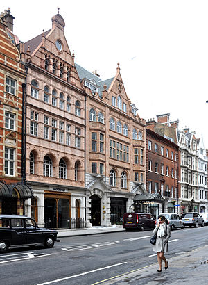 London, Wigmore Street with Wigmore Hall