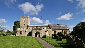 Longworth - Image: Longworth St Mary SSE