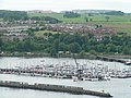 Looking towards Queensferry from the Forth road bridge - geograph.org.uk - 945582.jpg