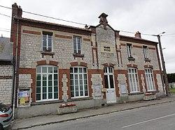 Lor (Aisne) mairie-école.JPG