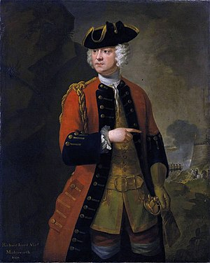 9th Queen's Royal Lancers - Viscount Molesworth who became colonel of the regiment in 1732