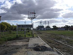 Los Toldos - FF.CC. Los Toldos Train Station