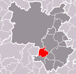 Location of Losiná
