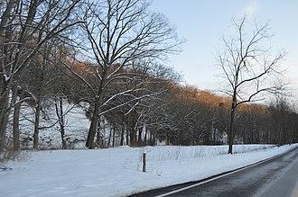 Bainbridge Township, Ohio - Scene along Geauga Lake Road