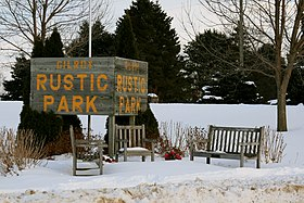 Lost Nation Iowa 20090125 Rustic Park.JPG
