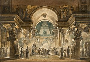 Louis-Jean Desprez - The Funeral Procession of Agamemnon.jpg