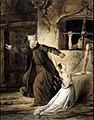 Louis Candide Boulanger - La Sachette, la Esmeralda et Claude Frollo.jpg