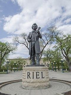 <i>Louis Riel</i> (sculpture) Sculpture of Louis Riel by John Cullen Nugent