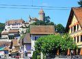 Lucens, Château et ses dépendances, vue depuis le village.jpg