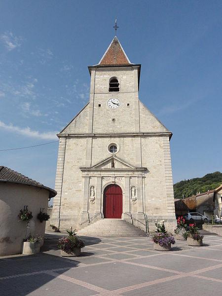 Lucey (Meurthe-et-M.) église