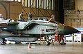 Luftwaffe GR-4 Tornado undergoing maintenance during Cooperative Cope Thunder 2004.JPEG