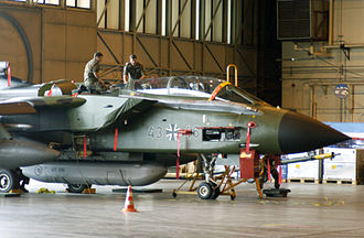 330px-Luftwaffe_GR-4_Tornado_undergoing_maintenance_during_Cooperative_Cope_Thunder_2004.JPEG