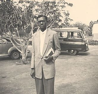 Patrice Lumumba - Photo of a young Lumumba, c. 1950s