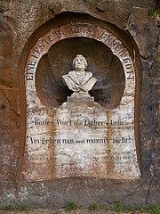 Lutherdenkmal mit Luthereiche (Bad Schandau)