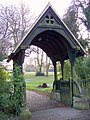 Lych gate, St Mary the Virgin, Preston Candover - geograph.org.uk - 695081.jpg