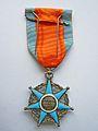 Médaille ruban, Ministère du travail, Mérite social. Revers.JPG