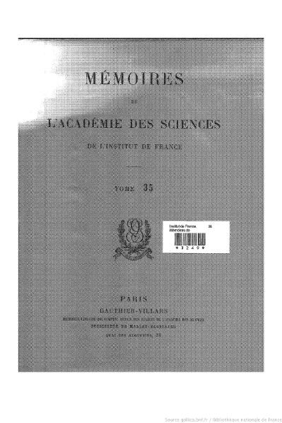 File:Mémoires de l'Académie des sciences, Tome 35.djvu