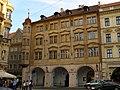 Měšťanský dům U Petržilků (Malá Strana), Praha 1, Malostranské nám. 1, Malá Strana.JPG