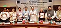 M. Venkaiah Naidu releasing the Functional Plan on Drainage for National Capital Region, at the meeting of National Capital Region Planning Board, in New Delhi.jpg