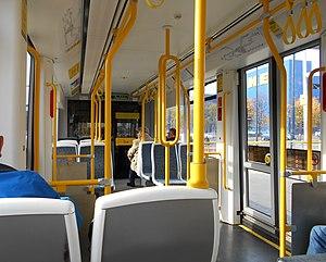 M5000 - Image: M5000 tram interior