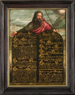 Ten Commandments Set of biblical principles relating to ethics and worship, which play a fundamental role in the Abrahamic religions