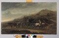 MCC-61489 Allegorie op religieuze verdeeldheid, spotschilderij met wagen waaraan aan twee kanten door paarden wordt getrokken (1).tif