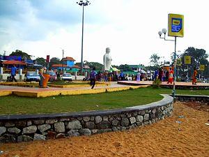 Kollam Beach - Mahatma Gandhi Park in Kollam Beach