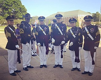 Marion Military Institute - The HQ of the Corps of Cadets after Alumni Weekend parade 2016