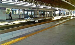 J. Ruiz LRT station - Juan Ruiz Station