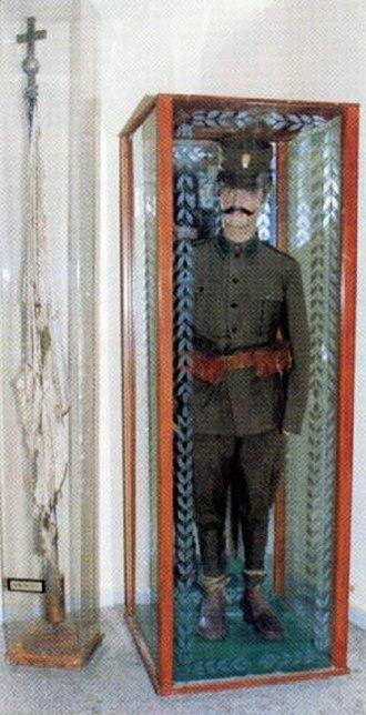 Kilkis War Museum - Image: Macedonian Museums 56 Polemiko Kilkis 249