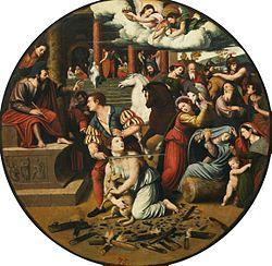 Vicente Masip: The Martyrdom of Saint Agnes