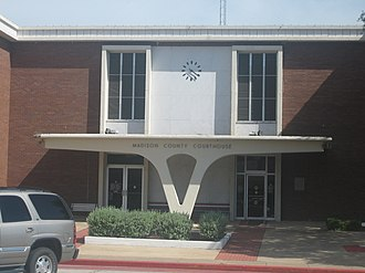 Madison County, Texas - Image: Madison County, TX, Courthouse IMG 1022