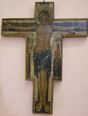 crucified with stone