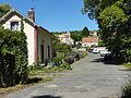 Magny-en-Vexin (95), ancien passage à niveau, rue du moulin de Bureau à Blamécourt 1.JPG